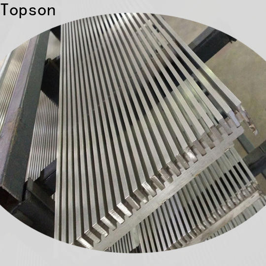 Topson Top deck grating material company for mall