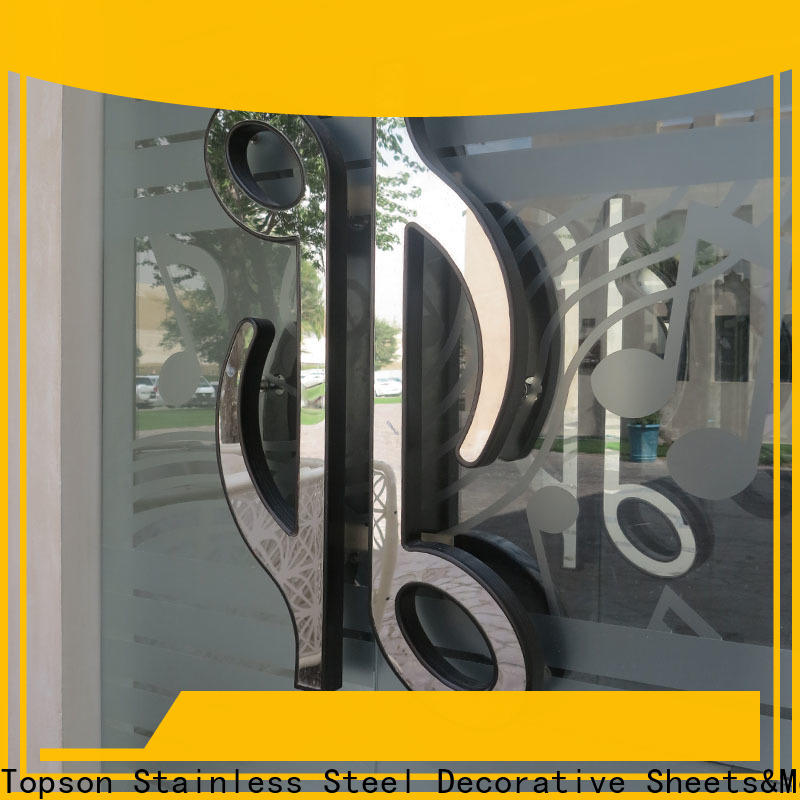 Wholesale steel entry doors for home stainless for roof decoration