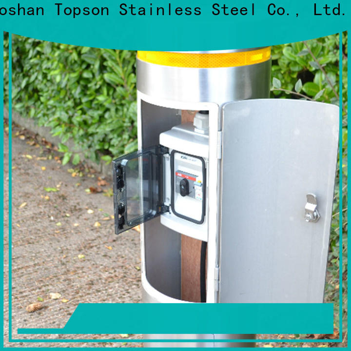 Topson stainless bollards for sale for mall