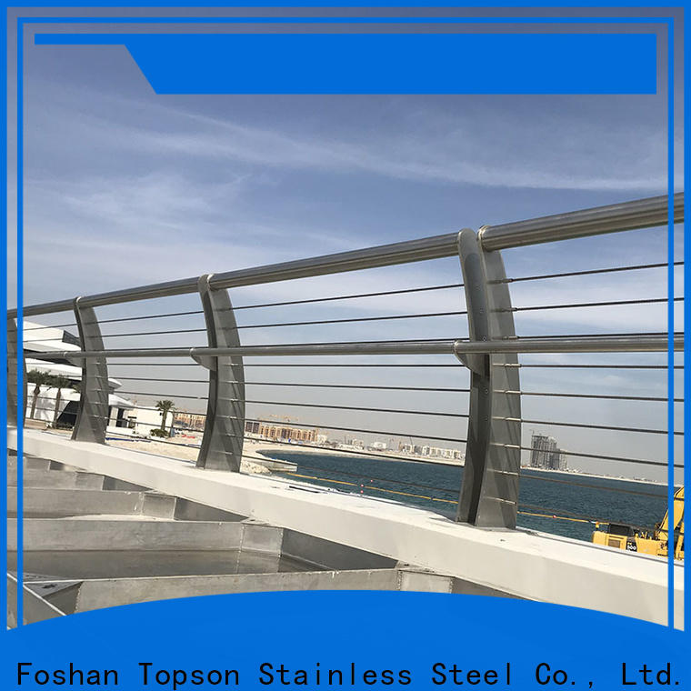 Topson railings stainless deck cable for office