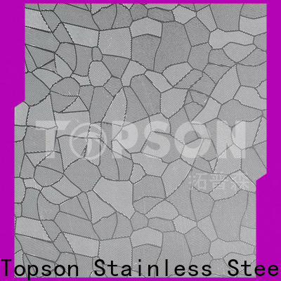 decorative stainless steel sheet suppliers brushed for vanity cabinet decoration