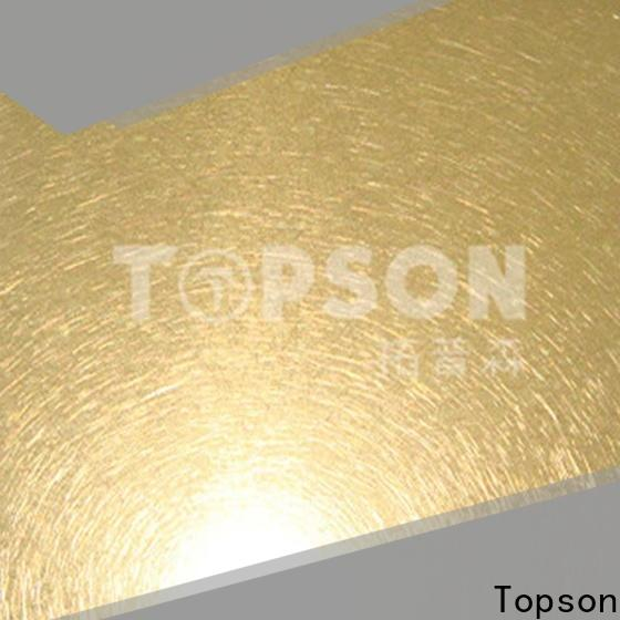 Topson Best metal work supplies company for furniture
