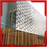 Topson decorative stainless steel perforated screen factory for curtail wall