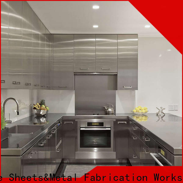 Topson High-quality stainless steel kitchen cabinets for sale manufacturers for roof decoration