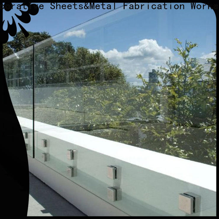 Topson gorgeous modern glass partition in china for outdoor