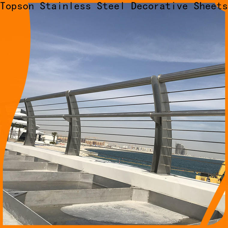 popular inox railing system stair manufacturers for room