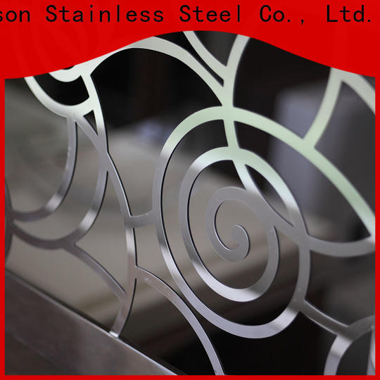 Topson reliable stainless steel stair railing systems