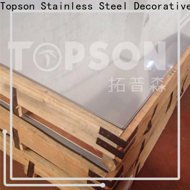 durable stainless steel decorative sheets stockists factory for interior wall decoration
