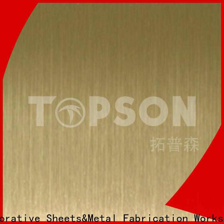 stainless steel sheet panels