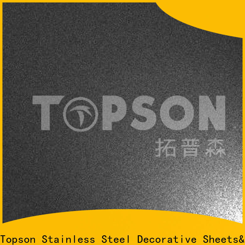 Topson decorative stainless steel sheets manufacturers factory for floor