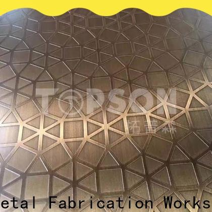 Topson New metal work supplies manufacturers for partition screens