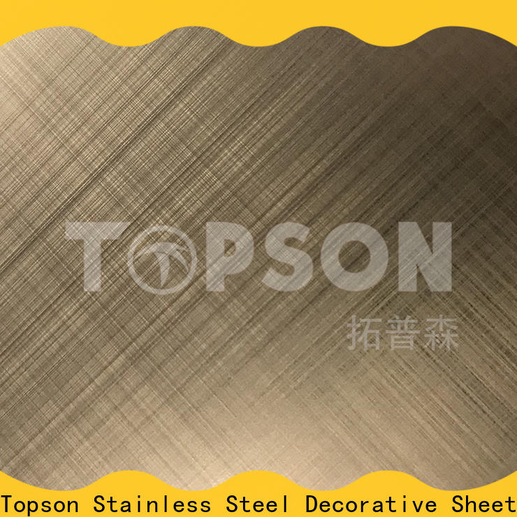 Topson steel plate decoration Suppliers for floor