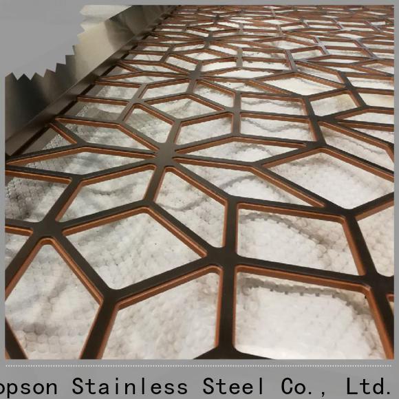 Topson mashrabiyamashrabiya aluminium mashrabiya screens factory for exterior decoration