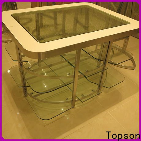 Topson furniture black metal patio furniture set factory for outdoor