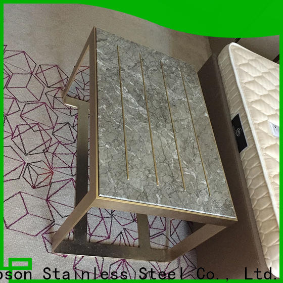Topson New custom made metal furniture for business for building facades