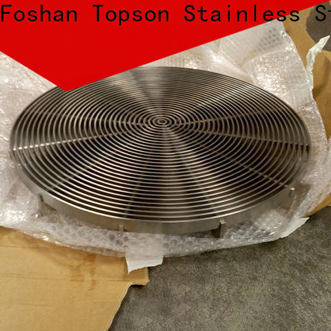 Topson high-quality stainless steel bar grating for tower
