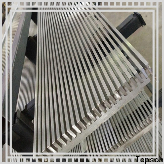 Topson steel stainless steel grating clips Supply for apartment