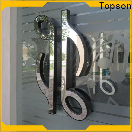 Topson steel stainless steel round door knobs for business for roof decoration