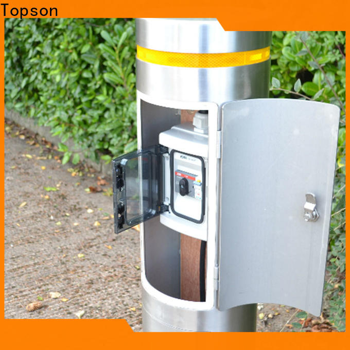 Topson pipe car park bollards Suppliers for mall
