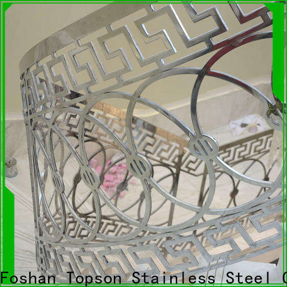Topson staircase stainless steel guardrail systems for business for office