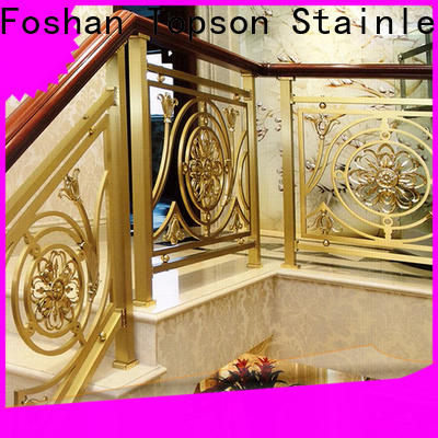 Topson popular stainless steel tubular handrail systems Suppliers for apartment