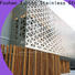 New perforated metal screen wall mashrabiya for business for protection