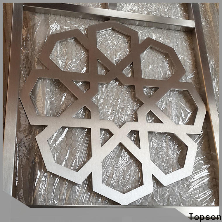 special design outdoor metal screen panels steel for business for curtail wall