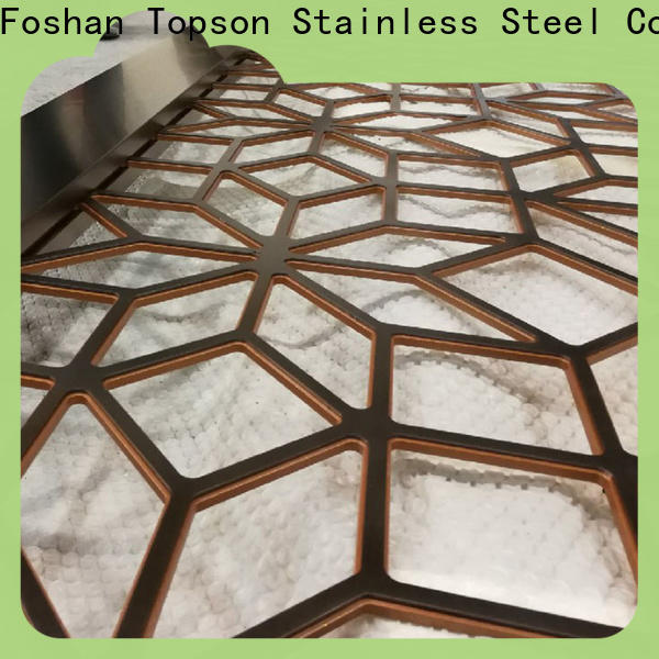High-quality decorative metal screen stainless Supply for curtail wall