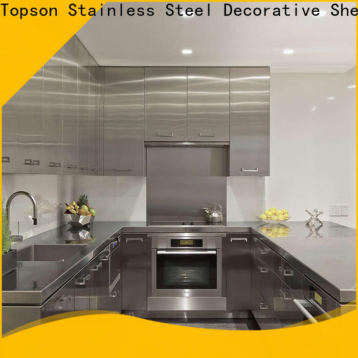 Topson High-quality stainless cabinet for sale factory for outdoor wall cladding