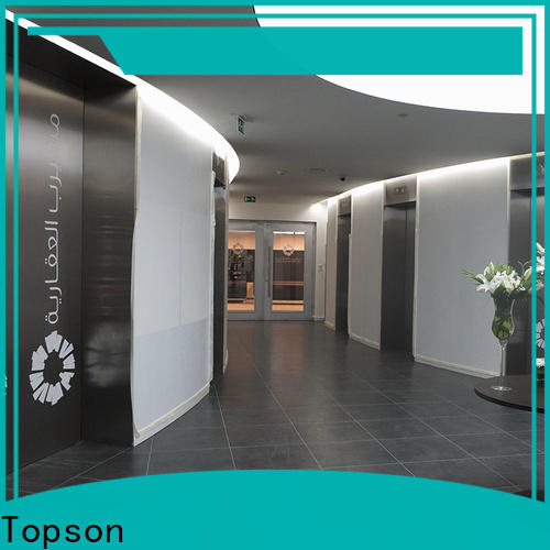 Topson cladding stainless steel glass door hardware Supply for kitchen decoration