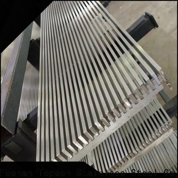 aluminum and steel pergola kit & exterior floor grates