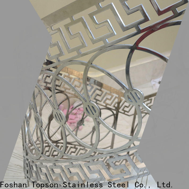 Topson cable prefab steel railing for room