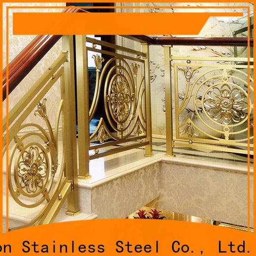 steel wire stair railing & stainless steel recessed pull handles