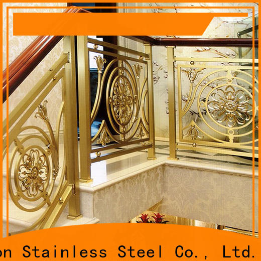 Top steel wire stair railing steel