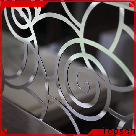 Topson railings stainless steel cable deck railing Suppliers for apartment