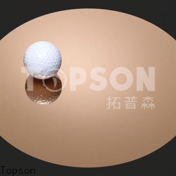 Topson vibration stainless steel sheet panels China for interior wall decoration
