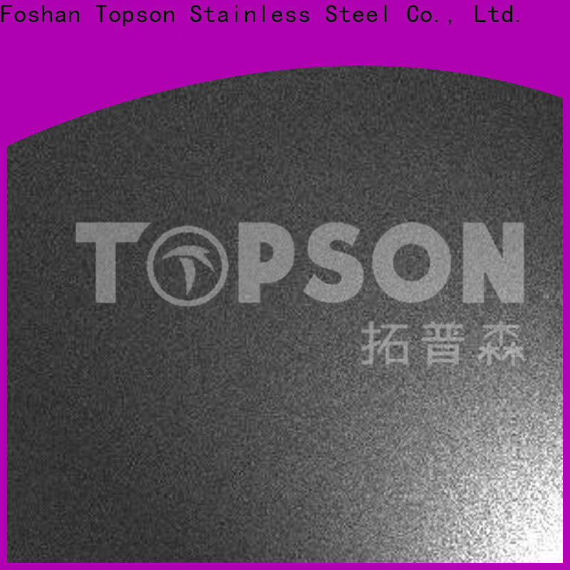New embossed stainless sheet hairline factory for partition screens