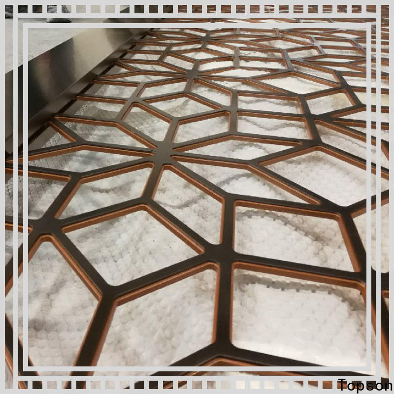 Topson plate decorative wooden fretwork company for exterior decoration