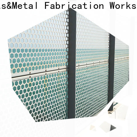 Topson good design outdoor metal privacy screens for exterior decoration