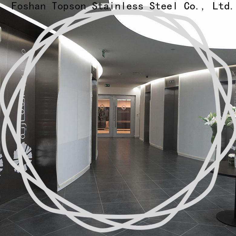 stainless front door cladding manufacturers for outdoor