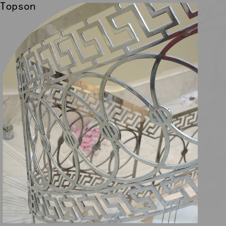 Topson Latest stainless steel cable railing interior Supply for building