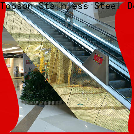 High-quality horizontal wall cladding stainless Supply for elevator