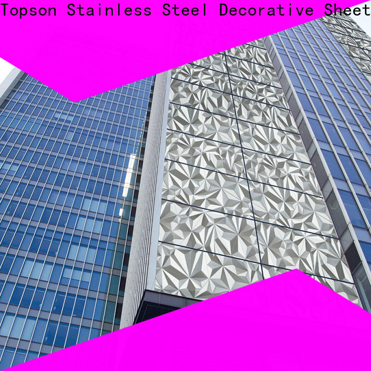 elegant stainless steel wall covering commercial kitchen column factory for lift