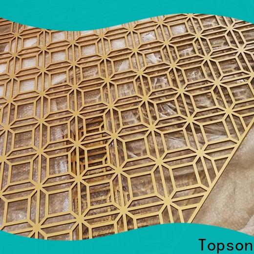 Topson external decorative metal mesh screen Supply for curtail wall