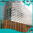 High-quality interior decorative screens external for business for landscape architecture