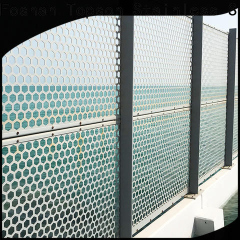 High-quality decorative metal screen sheets decorative for exterior decoration
