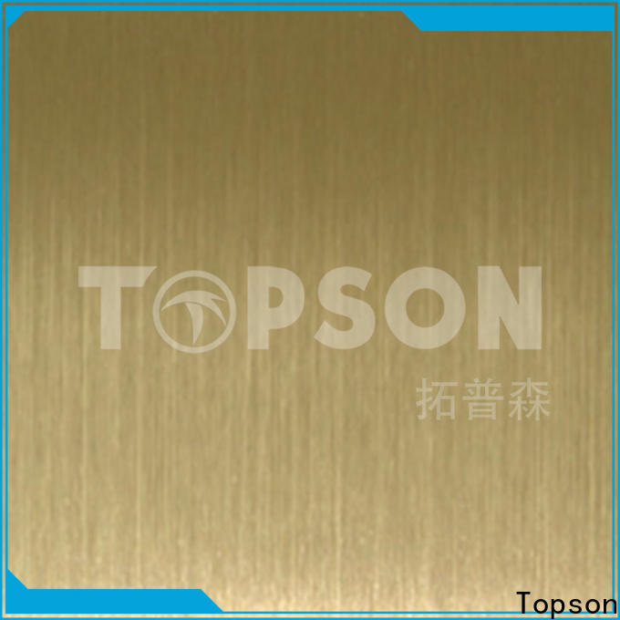 Topson luxurious decorative steel panels for walls for elevator for escalator decoration