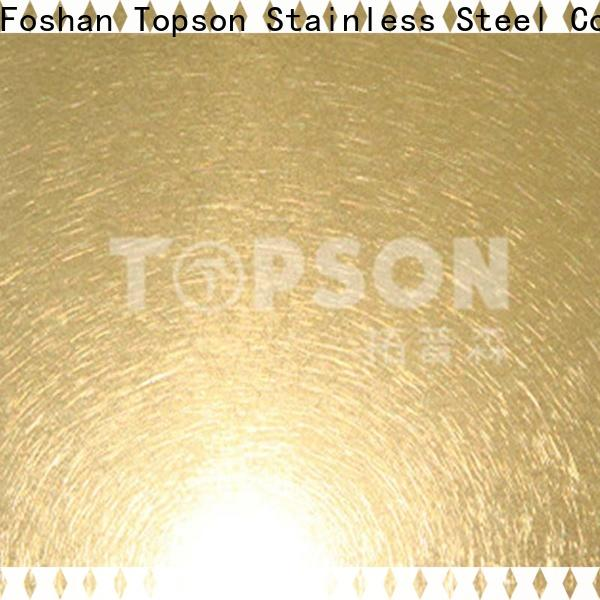 Best stainless steel embossed plate bead Supply for interior wall decoration