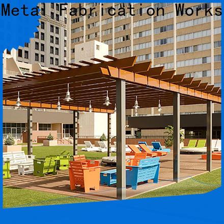 high-density plan pergola aluminium aluminium factory for garden
