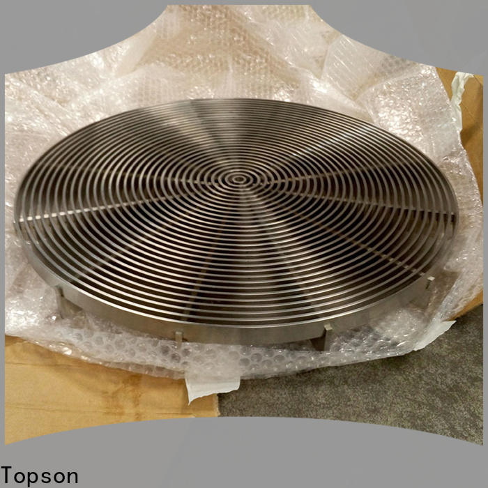 Topson durable aluminum i bar grating manufacturers for building